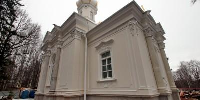 Петергоф, Собственная дача, церковь