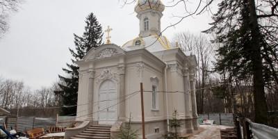 Петергоф, Собственная дача, Троицкая церковь