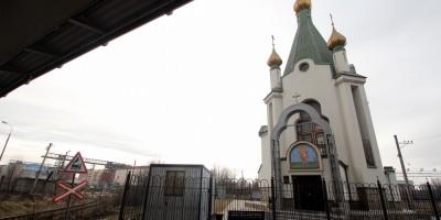 Предпортовая улица, церковь Николая Чудотворца