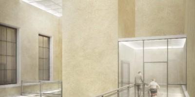 Русский музей, двор, инвалид