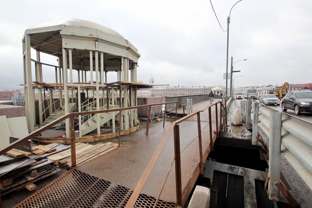 Тучков мост, реконструкция, ротонда