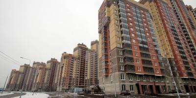 Улица Валерия Гаврилина, жилые дома