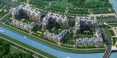Жилой комплекс на берегу Матисова канала