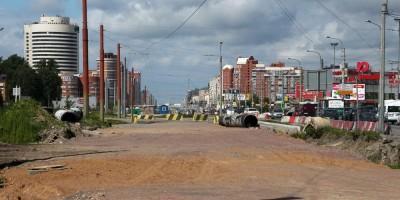 Богатырский проспект, реконструкция