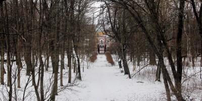 Кронштадт, Летний сад, аллея