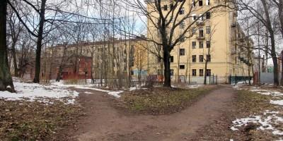 Кронштадт, Летний сад, аллеи