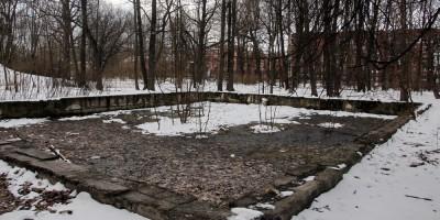 Кронштадт, Летний сад, бассейн