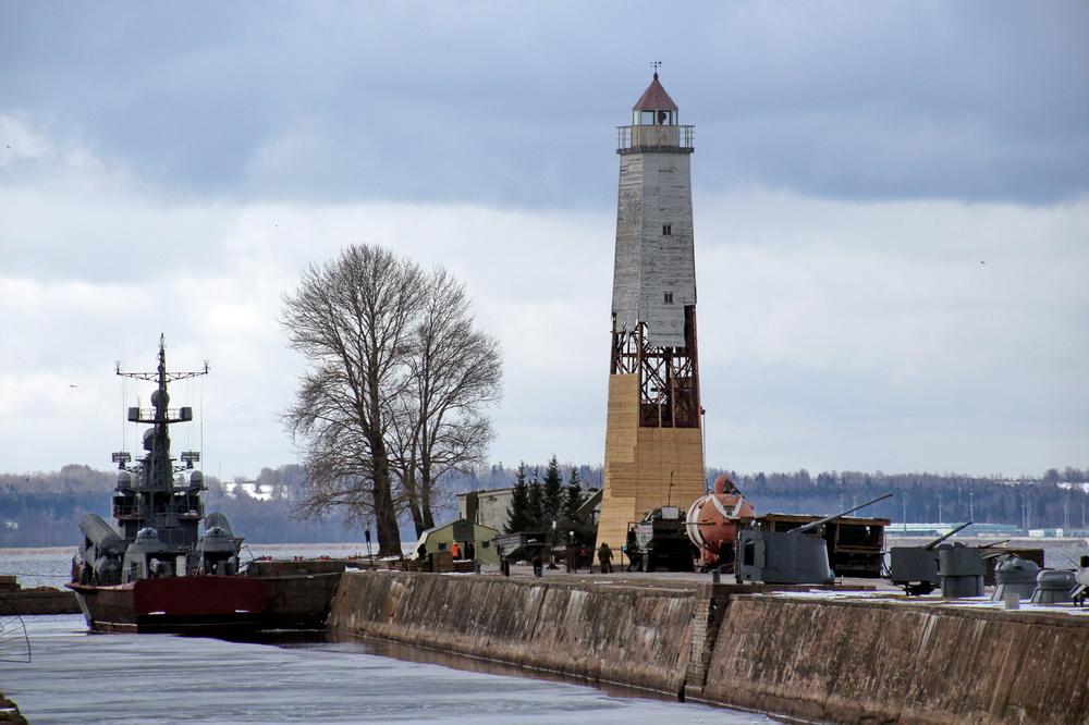 Кронштадт, маяк