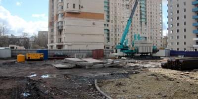 Московское шоссе, 16, после сноса