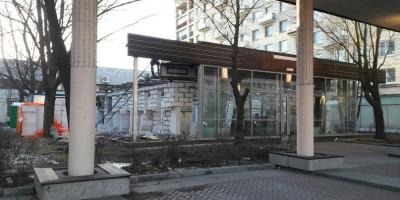Московский проспект, 207а, строительство ресторана
