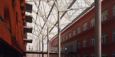 Новоладожская улица, 4, проект реконструкции, двор