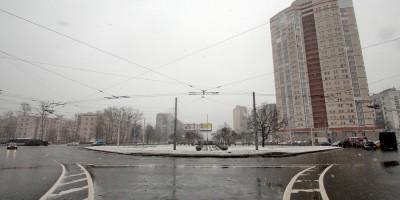 Перекресток Дачного проспекта и проспекта Ветеранов
