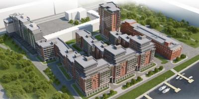 Проект жилого комплекса на Перевозной набережной