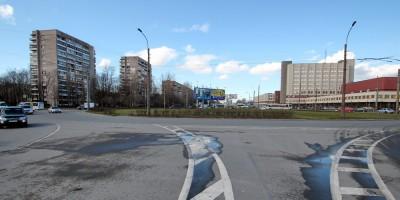 Проспект Энергетиков, перекресток с шоссе Революции