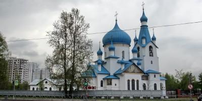 Пулковский парк, церковь Рождества Христова
