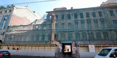Снос дома Малоземовой на Лиговском проспекте