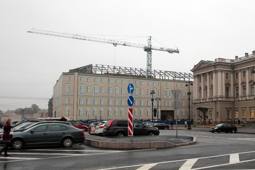 Исаакиевская площадь, дом Якунчиковой