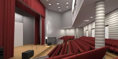 Зеленогорск, Дом детского и юношеского творчества, концертный зал