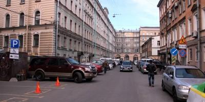 1-я Советская улица в сторону Орловского переулка