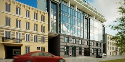 Днепропетровская улица, 37, фасад жилого дома