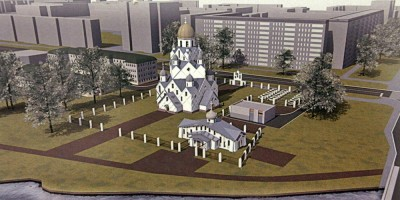 Колпино, проект собора на улице Анисимова