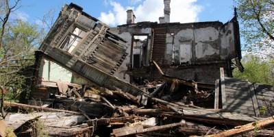 Красное Село, Фабричный Поселок, 7, обрушение