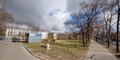 Красное Село, проспект Ленина, сквер
