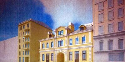Лиговский проспект, 127, дом Рыжкина, проект