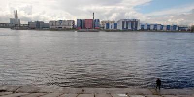 Обуховский завод, Нева