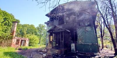 Озерки, Береговая улица, 4, последствия пожара