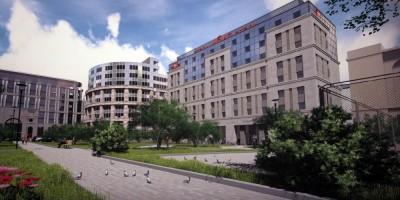 Проект гостиницы Ibis на улице Маяковского