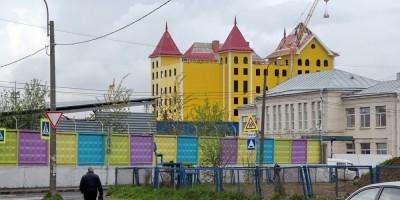 Проспект Девятого Января, 11, корпус 2, строительство швейной фабрики