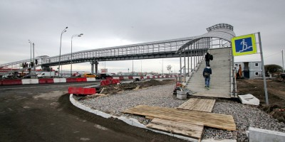 Пулковское шоссе, пешеходный переход