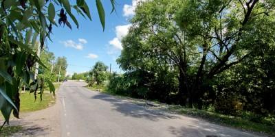 Садовая улица возле Тярлевского ручья