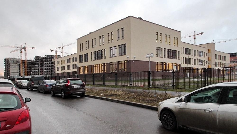 Улица Капитана Грищенко, 3, корпус 1, школа