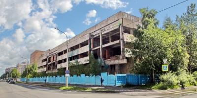 Улица Руднева, 15, недостроенное здание МАПО