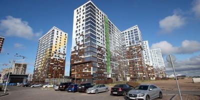 Улица Вадима Шефнера, жилые дома
