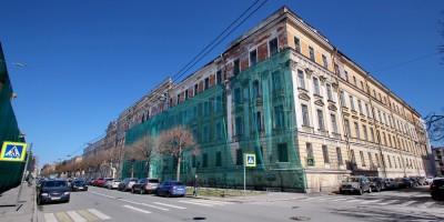 Военно-топографическое училище на улице Красного Курсанта