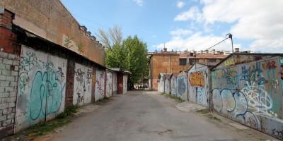 Воронежская улица, комплекс гаражей