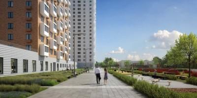 Жилой комплекс на Дальневосточном проспекте, 15, фасады