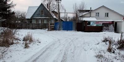 Горелово, Калиновая улица, ворота