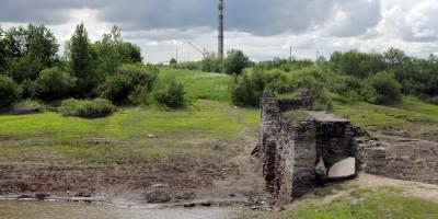 Кузьминское водохранилище, мост
