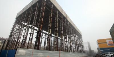 Обводный канал, 118а, снос завода, март