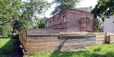 Петергоф, Константиновская улица, 12, начало реконструкции