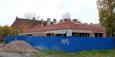 Петергоф, Никольская улица, 6а, строительство