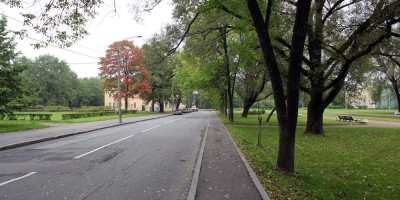 Петергоф, площадь Жертв Революции