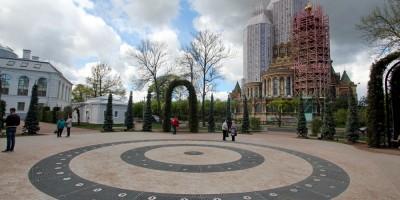 Петергоф, Торговая площадь, фонтан