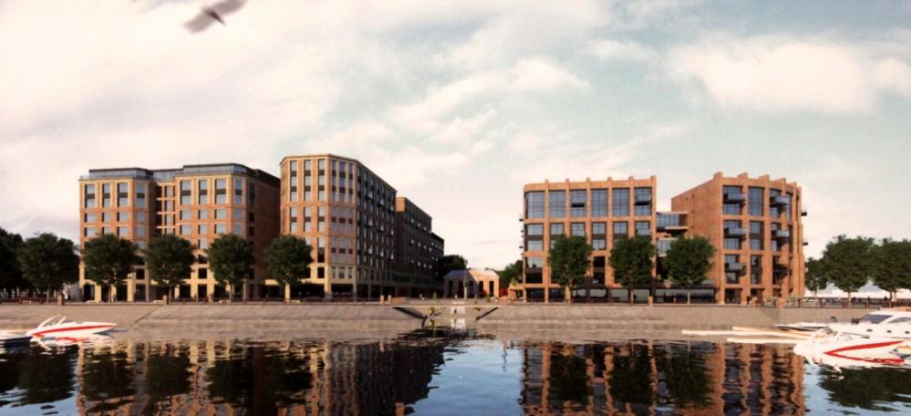 Петровская коса, 7, жилой комплекс, вид из гаванца