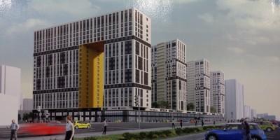Проспект Маршала Блюхера, проект жилого дома