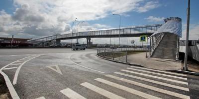 Пулковское шоссе, надземный пешеходный переход